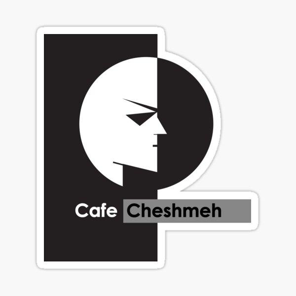 Cafe Cheshmeh Kelly Logo Sticker