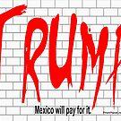 Trump Wall by ayemagine