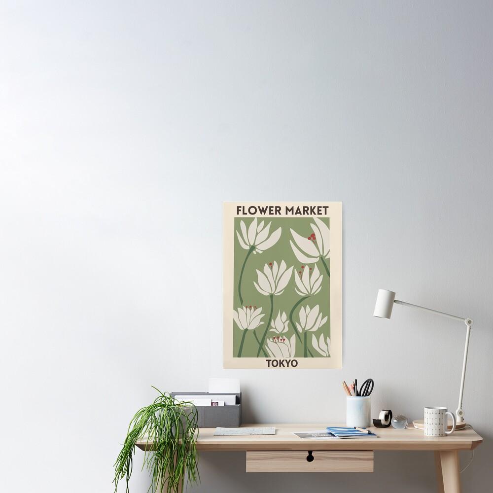 Flower market Poster
