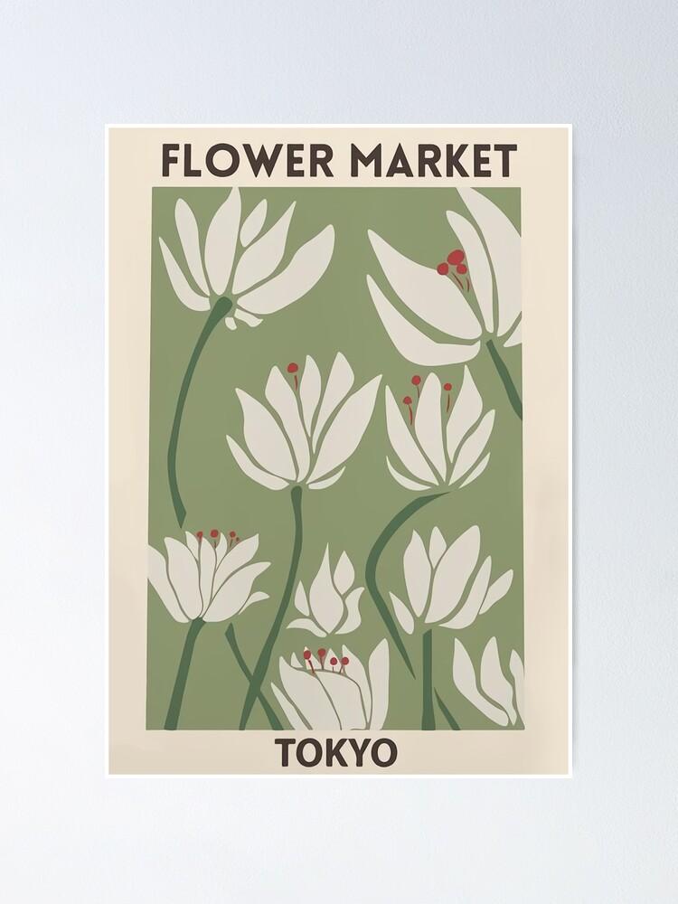 Alternate view of Flower market Poster