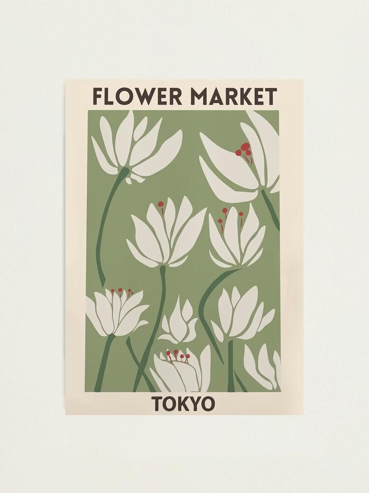 Alternate view of Flower market Photographic Print