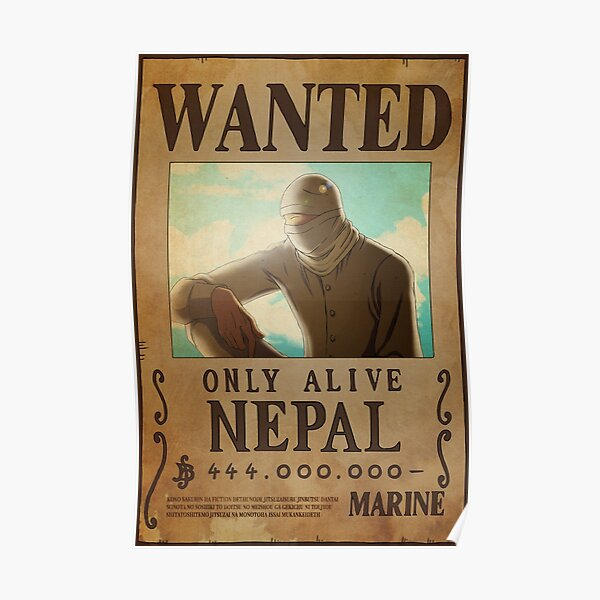 Nepal Wanted Poster