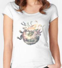 Beholder - DnD / D&D / Dungeons and Dragons Art Women's Fitted Scoop T-Shirt