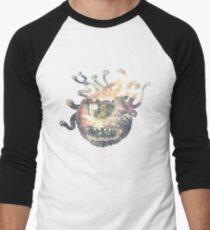 Beholder - DnD / D&D / Dungeons and Dragons Art Men's Baseball ¾ T-Shirt