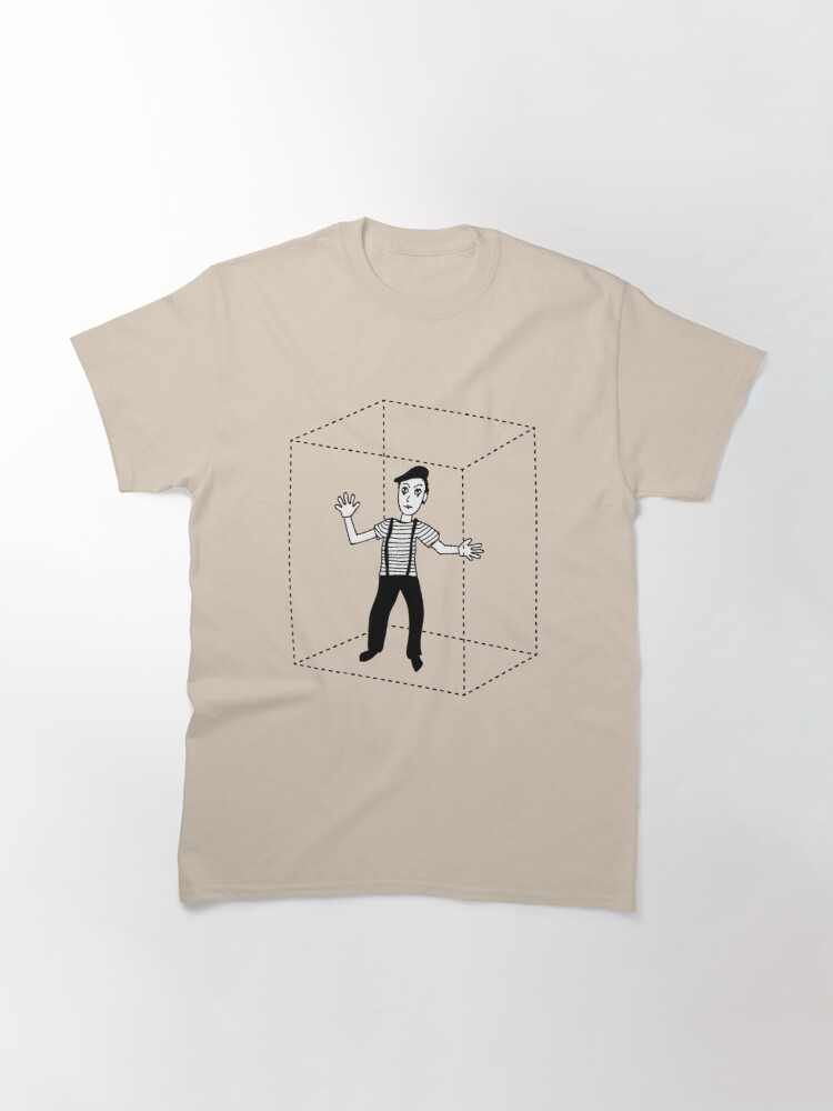 Alternate view of Mime in Box Classic T-Shirt