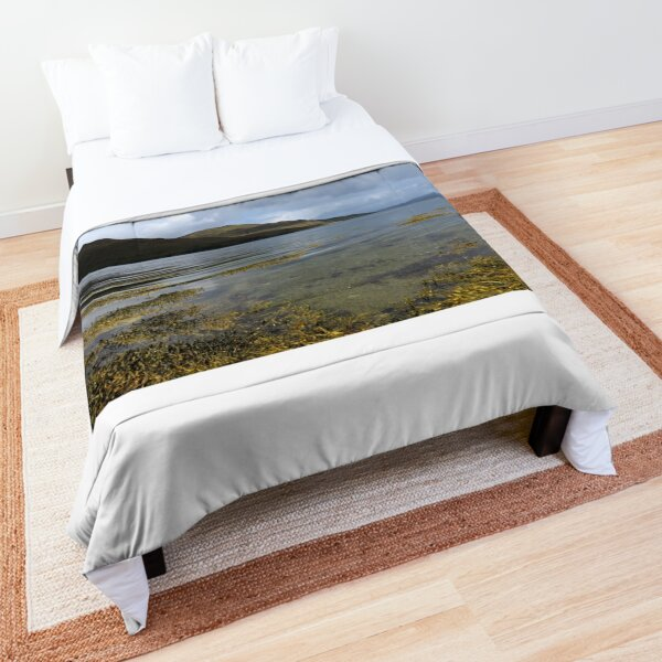 Tranquil Sea by Liam Hooper Comforter