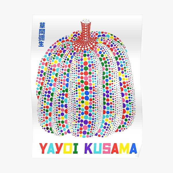 Yayoi Kusama Rainbow Poster