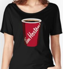 Tim Horton's Cup Women's Relaxed Fit T-Shirt