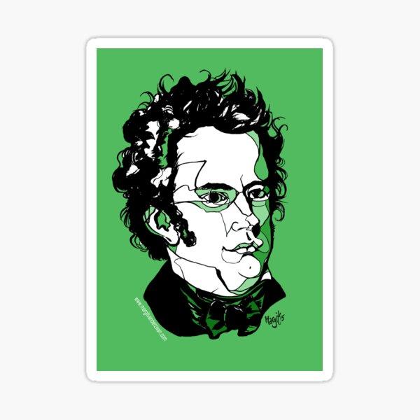 Franz Schubert composer Sticker