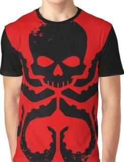 HYDRA Badge - Black Graphic T-Shirt