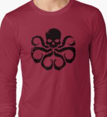 HYDRA Badge - Black Long Sleeve T-Shirt