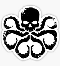 HYDRA Badge - Black Sticker