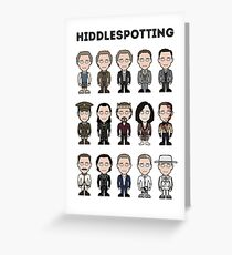 Hiddlespotting (card/notebook) Greeting Card