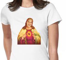 mac iz jizzus  Womens Fitted T-Shirt