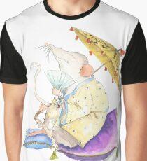 Stu the Meditating Sewer Rat  Graphic T-Shirt
