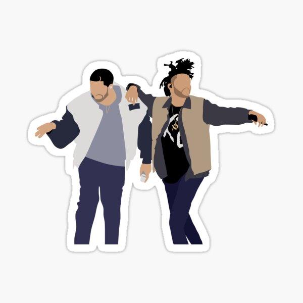 Drake + The Weeknd Sticker