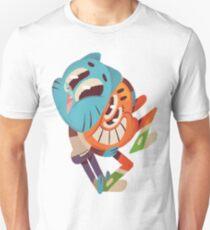 The amazing world of gumball 14 - gumball and darwin Unisex T-Shirt