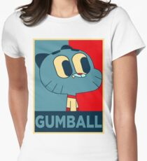 The amazing world of gumball 15 - gumball Women's Fitted T-Shirt