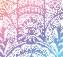 Rainbow Hamsa Sticker