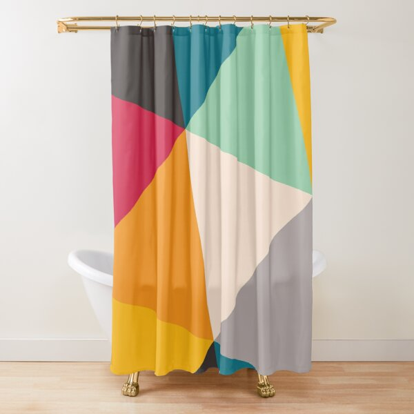 Triangles (2012) Shower Curtain