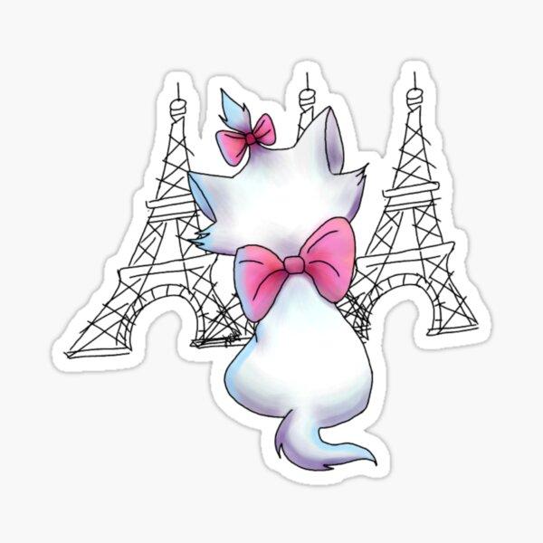 Paris dans mon esprit Sticker