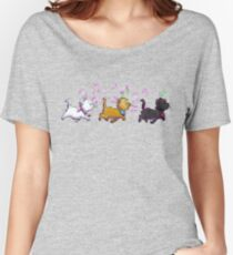 Kitten Trio Women's Relaxed Fit T-Shirt
