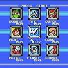 «Mega Man 2 - Selección de escenario» de muramas