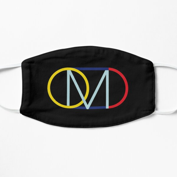 OMD orchestral manoeuvres in the dark Flat Mask