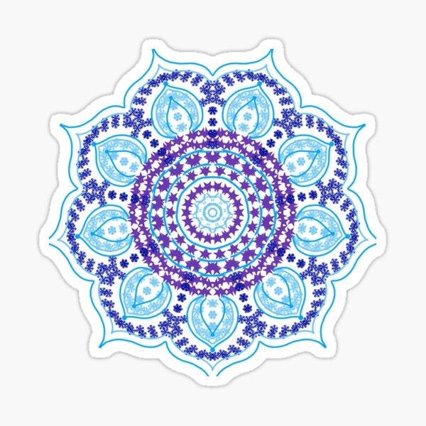 floral nish 3 Sticker