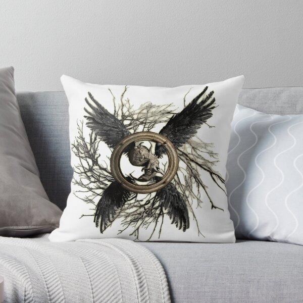 Resident Evil Village Logo Throw Pillow