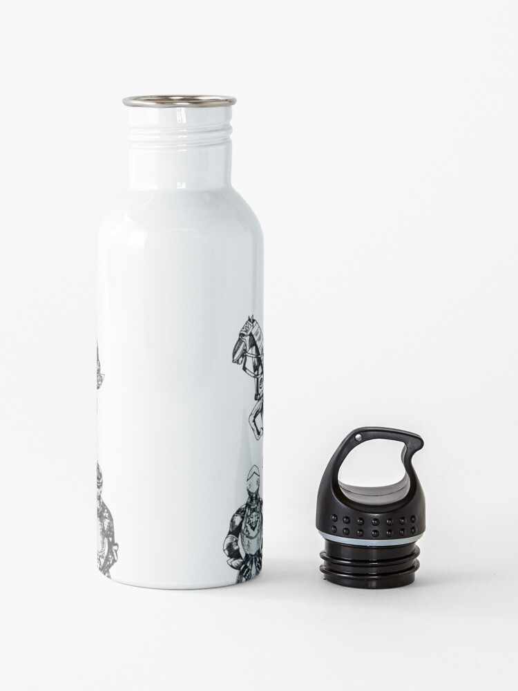 Alternate view of Medieval armor Water Bottle