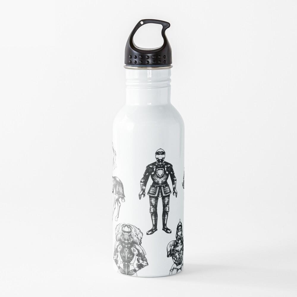 Medieval armor Water Bottle