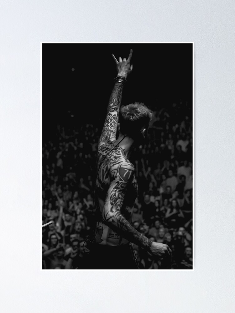 Alternate view of mgk Poster