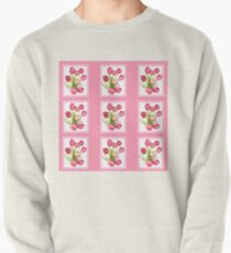 9 bunches of Pink Tulip Flowers by Kristie Hubler Pullover