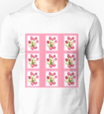 9 bunches of Pink Tulip Flowers by Kristie Hubler Unisex T-Shirt
