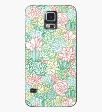 Succulent Sketches Case/Skin for Samsung Galaxy
