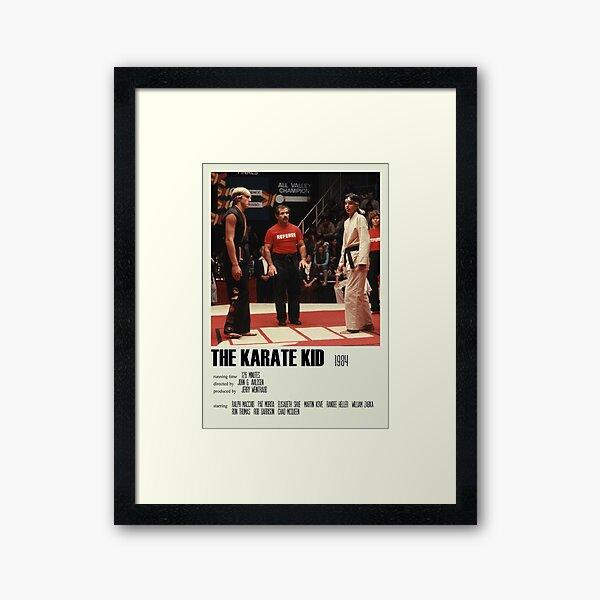 The Karate Kid (1984) Alternative Poster Art Movie Large (5) Framed Art Print