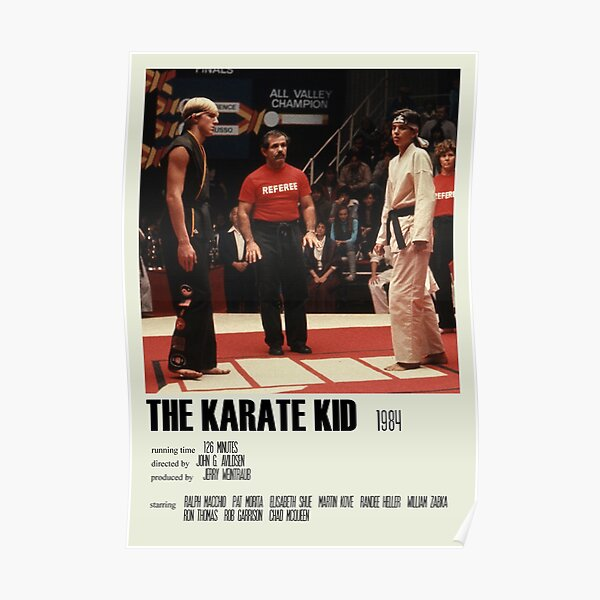 The Karate Kid (1984) Alternative Poster Art Movie Large (5) Poster