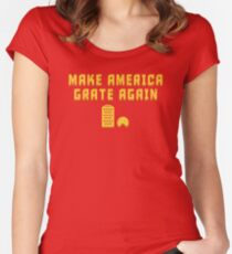 Make America Grate Again! Women's Fitted Scoop T-Shirt