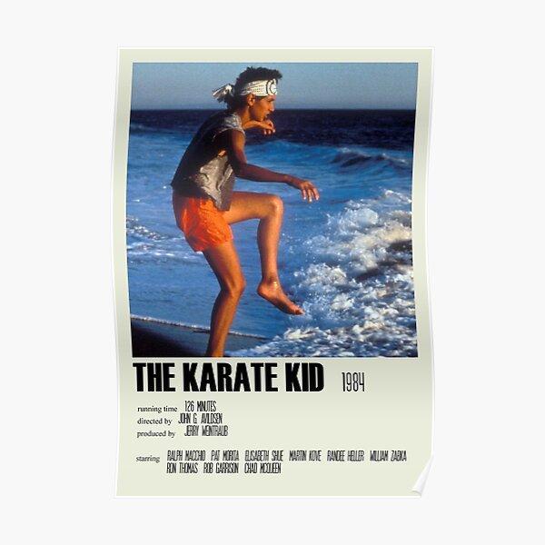 The Karate Kid (1984) Alternative Poster Art Movie Large (3) Poster