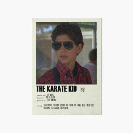 The Karate Kid (1984) Póster alternativo Art Movie Large (1) Lámina rígida