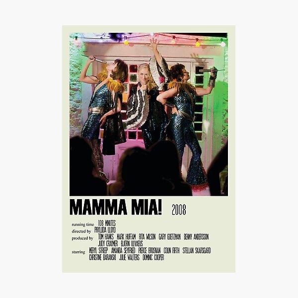Mamma Mia! Alternative Poster Art Movie Large (4) Photographic Print