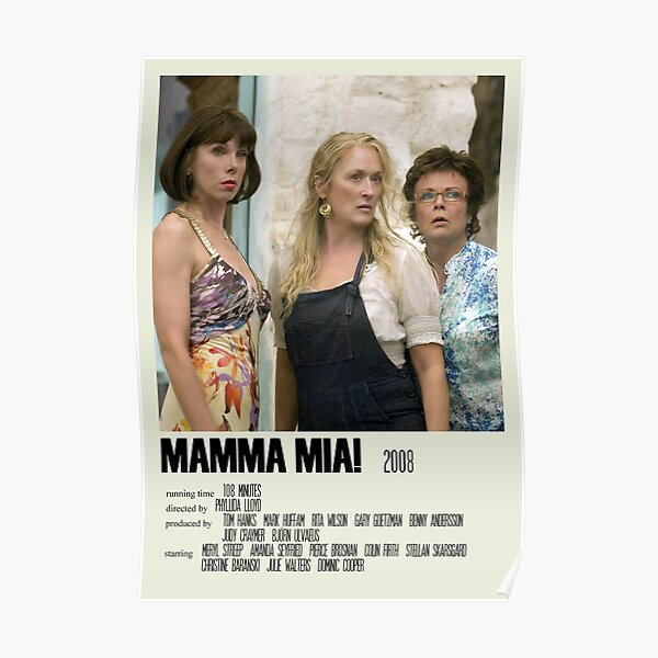 Mamma Mia! Alternative Poster Art Movie Large (2) Poster