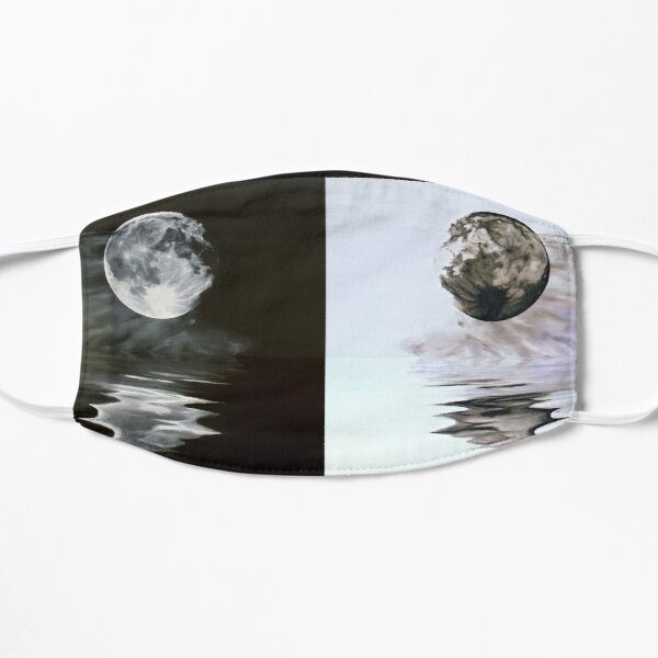 The Full Moon Inverted Reflection - nature - waterscape  (ED01) Mask