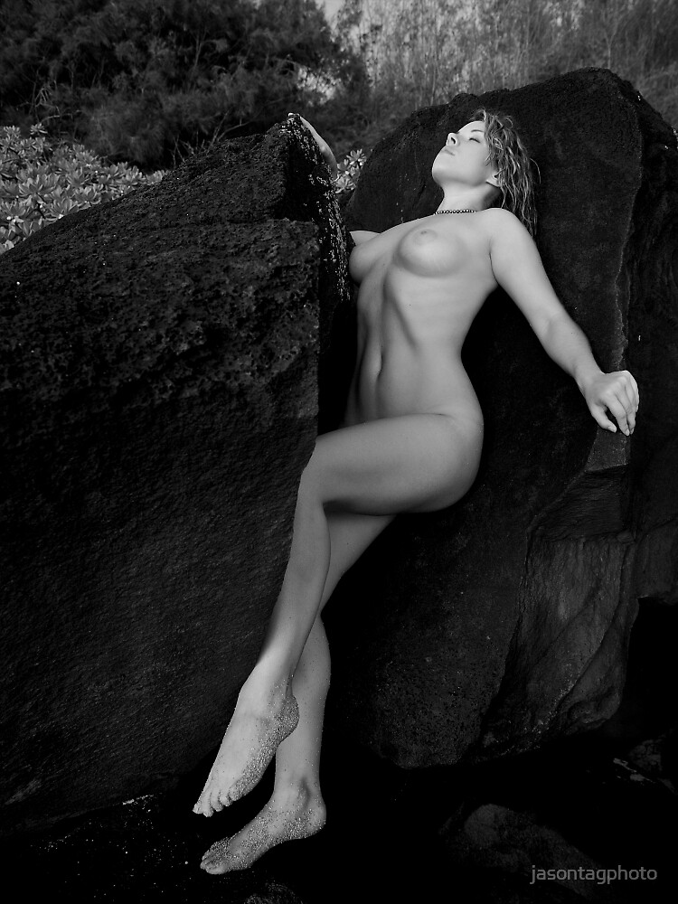 Ella:  Against the rocks by jasontagphoto