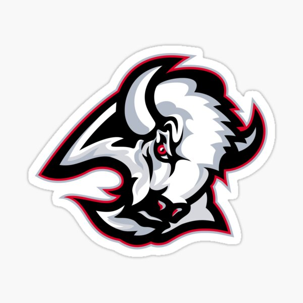 Buffalo Sabres Vintage Logo - Red Sticker