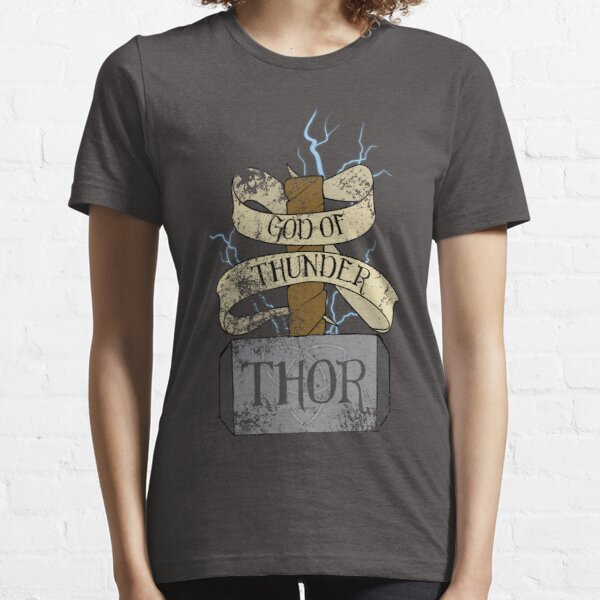 God Of Thunder Essential T-Shirt