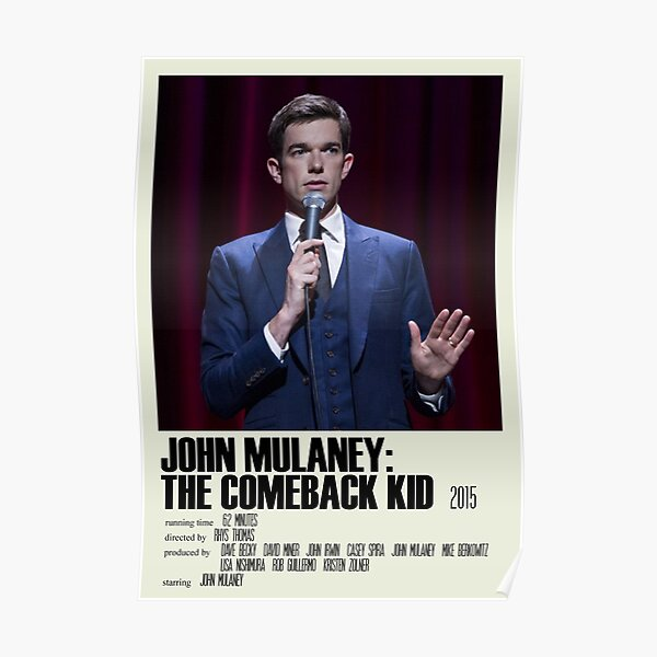 John Mulaney: The Comeback Kid Alternative Poster Art Movie Large (2) Poster