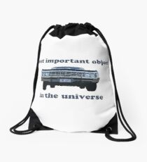 Most Important Object Drawstring Bag