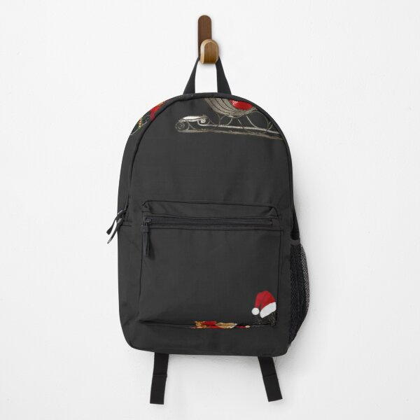 Newfoundland Dog Christmas Backpack